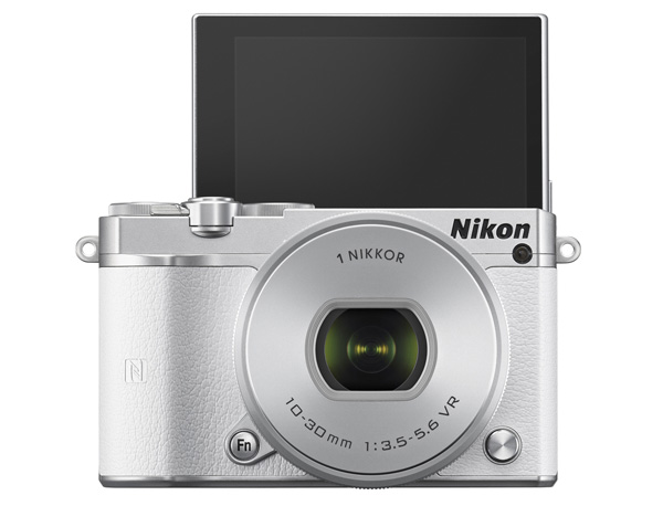 The Nikon 1 J5 - now with selfie mode.
