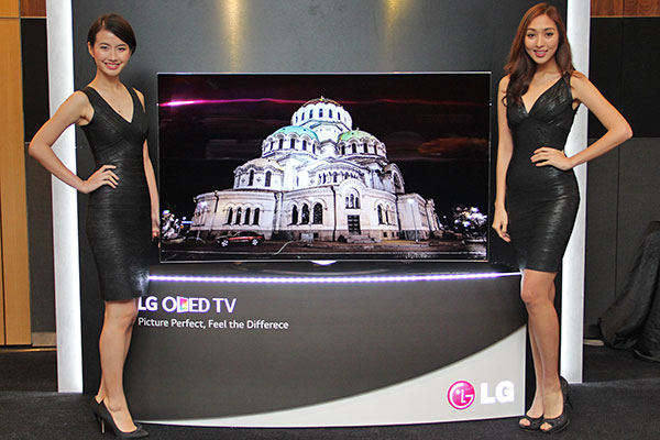 The 65-inch LG EC970T is a curved 4K TV that uses OLED technology.