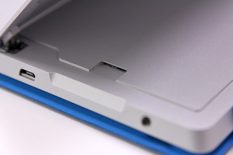 Need more storage? Microsoft has kept the microSD card slot on the Surface 3.
