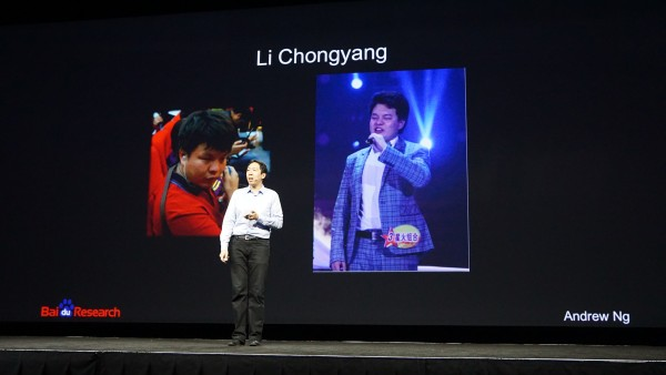 Meet Li Chongyang. Li is blind, but thanks to Baidu's Deep Speech initiative, though, Li is able to go about his daily life like any other person.