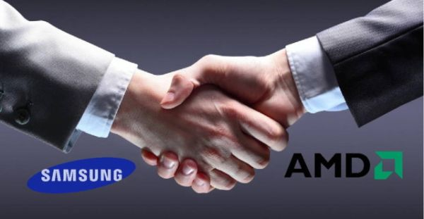 Rumor has it that Samsung may be considering an acquisition of AMD. <br> Image source: Ubergizmo.