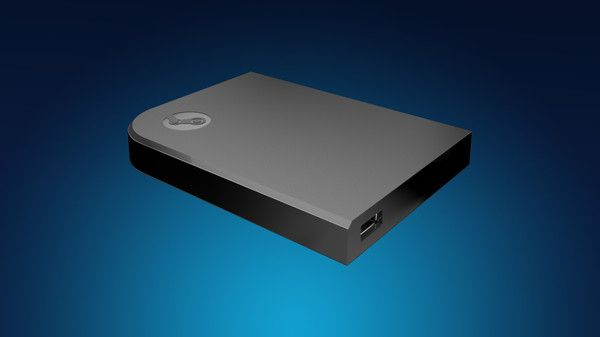 The Steam Link box will allow you to stream games from your PC or Steam Machine directly to your TV. <br> Image source: Engadget.