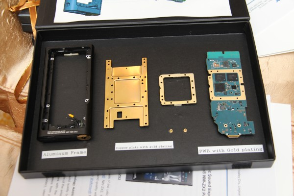 These are part of the components that are fitted inside the NW-ZX2's chassis.