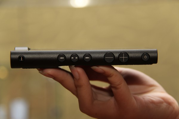 Even the buttons on the side are machine cut to look elegant, while still maintaining functionality.