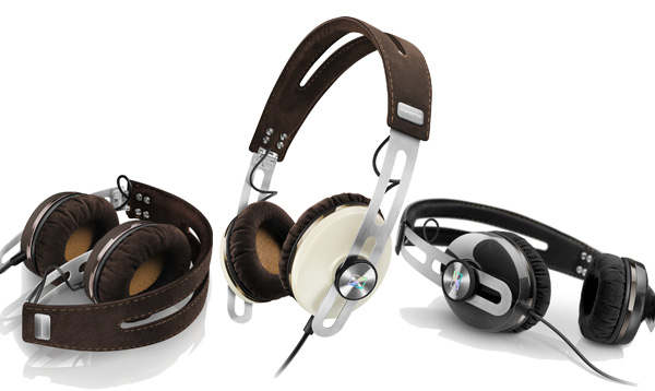 The Momentum On-Ears come in a choice of brown, ivory or black.