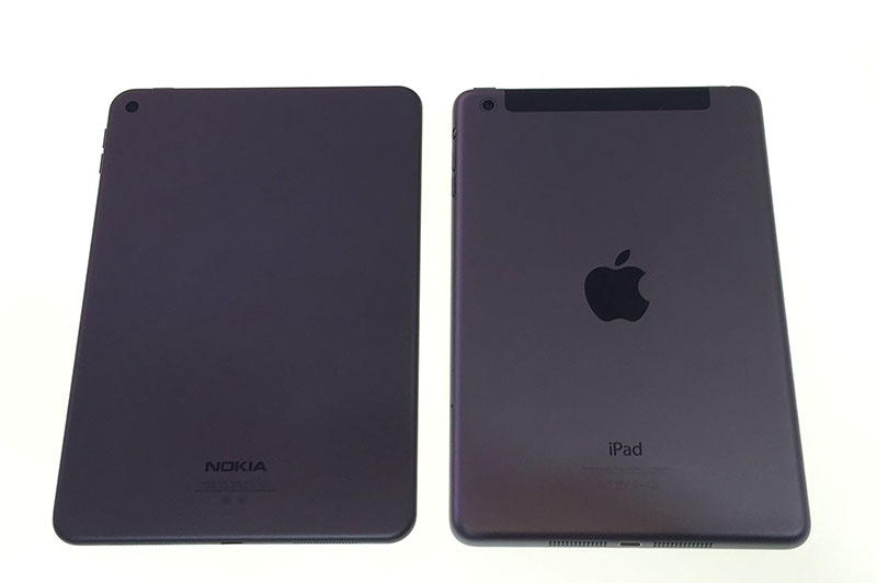 Nokia's lava gray is identical in color to Apple's slate gray.