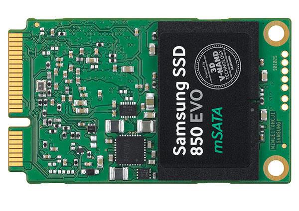 Samsung 850 EVO mSATA. (Image Source: Samsung)
