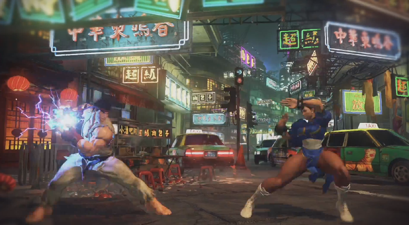 Capcom's upcoming Street Fighter V will be one of the new games using Unreal Engine 4.