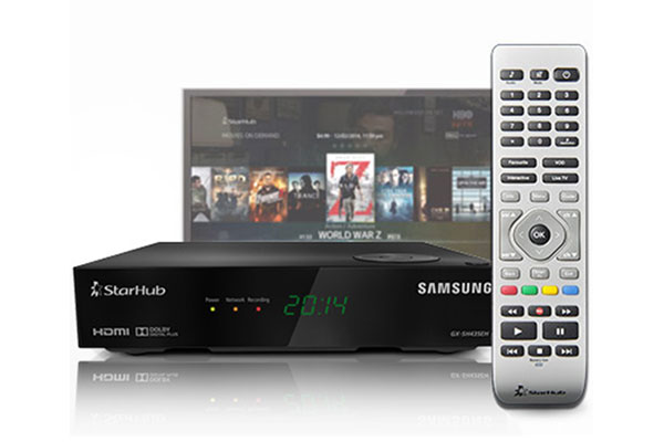 The IPTV set-top box costs S$6.42/month to rent. (Image source: StarHub.)