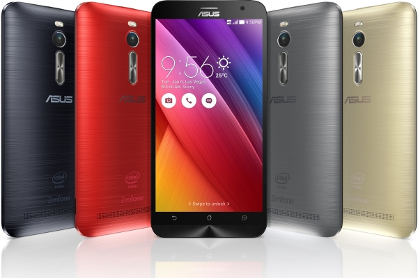 The new ASUS ZenFone 2. <br> Image source: ASUS.