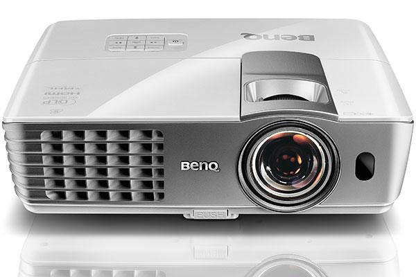 BenQ W1080ST+ 1080p DLP projector.