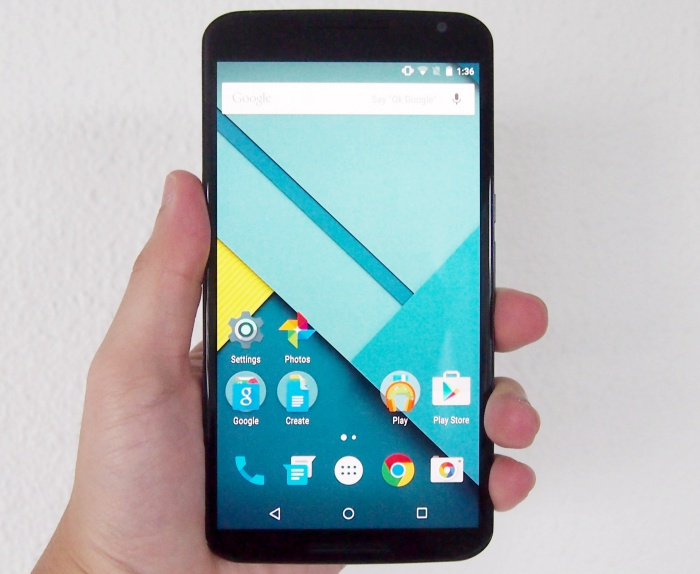 Google's first phablet is the Motorola Nexus 6 which has 5.96-inch Quad-HD display.
