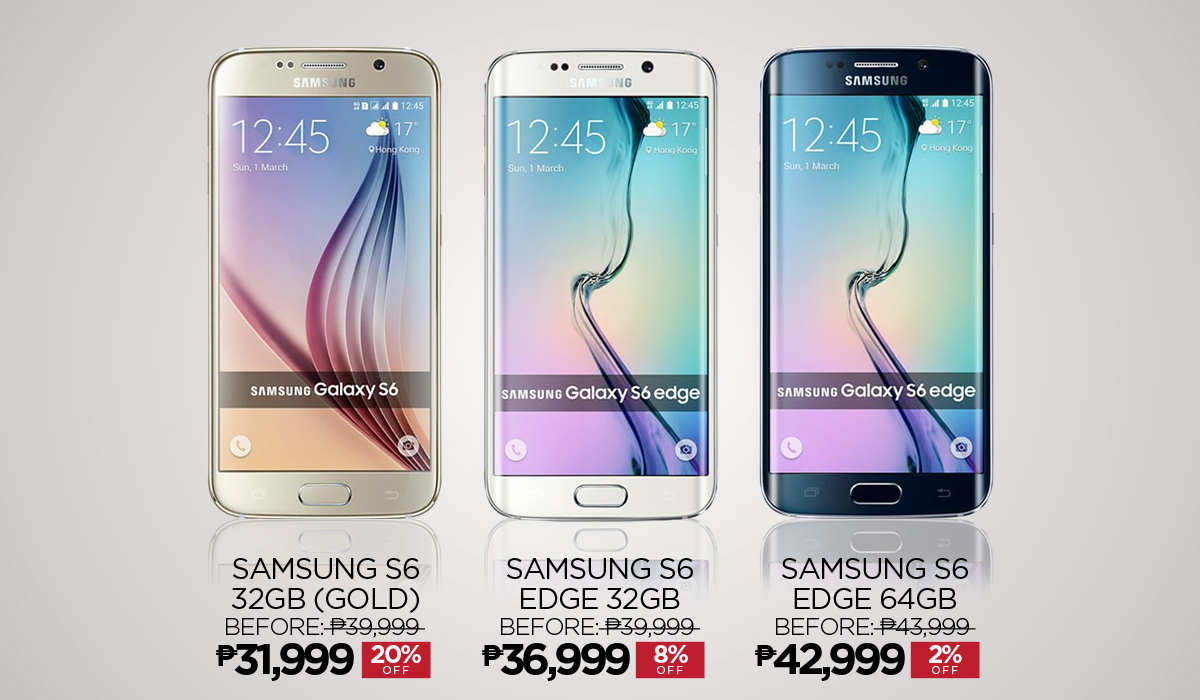 Samsung Galaxy S6 and S6 Edge can now be purchased online ...