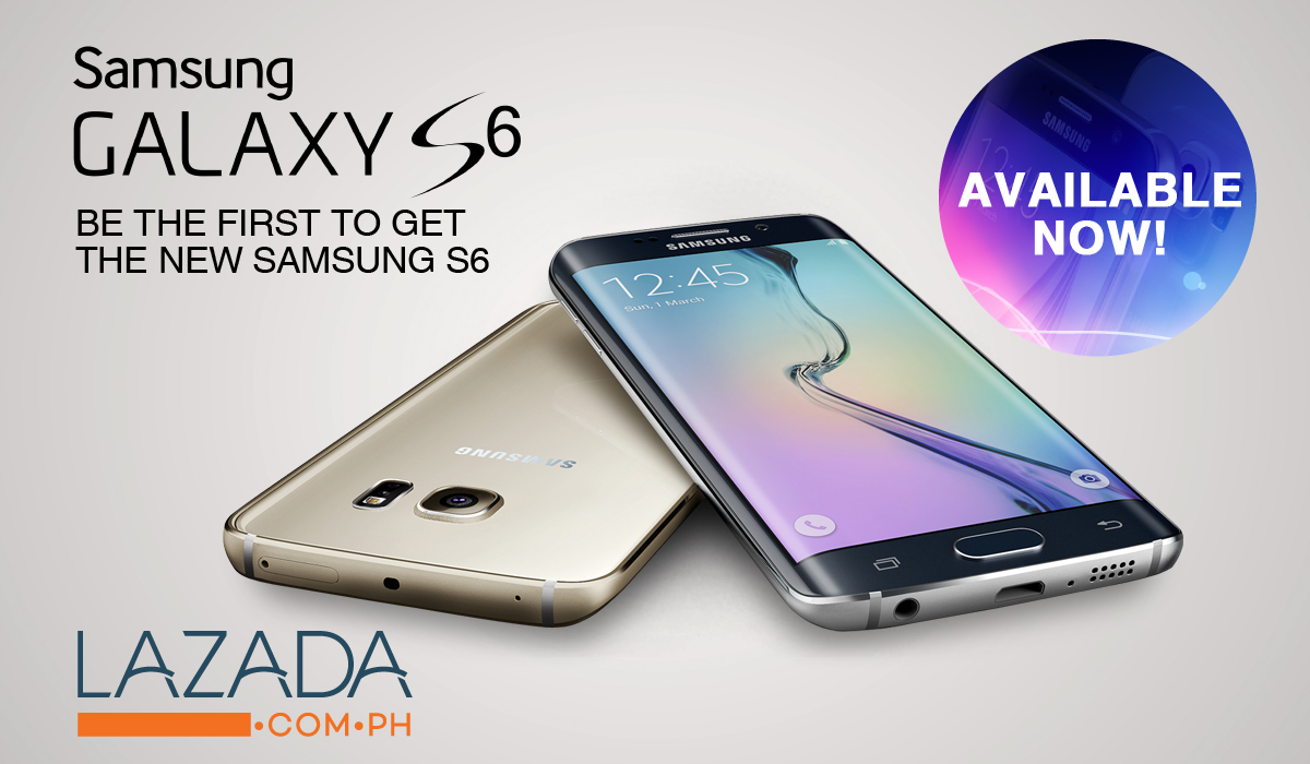 samsung galaxy s6 price list. samsung galaxy s6 and edge now available via online sellers price list