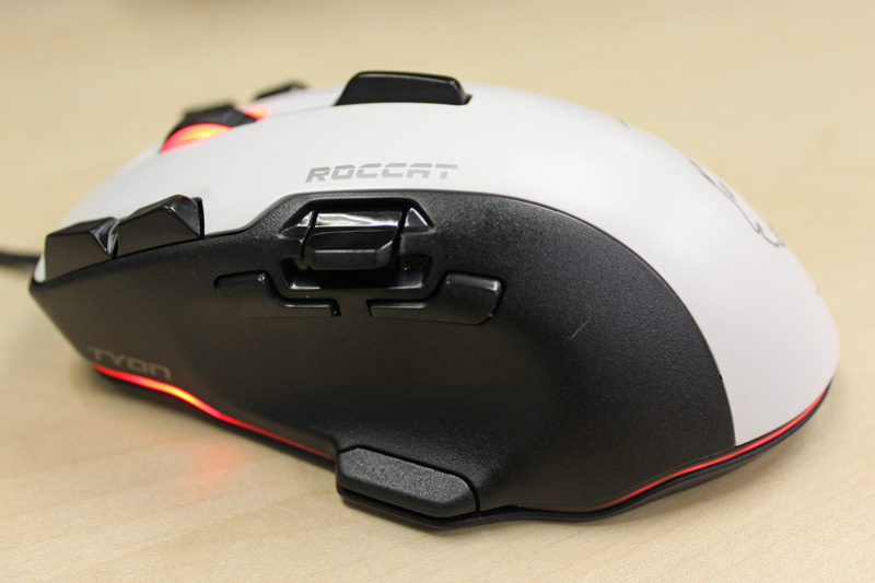 With 14 physical buttons, the Roccat Tyon might look cumbersome, but it's actually very comfortable to use.