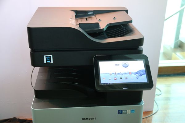 The new printers feature a 10.1-inch touchscreen interface.