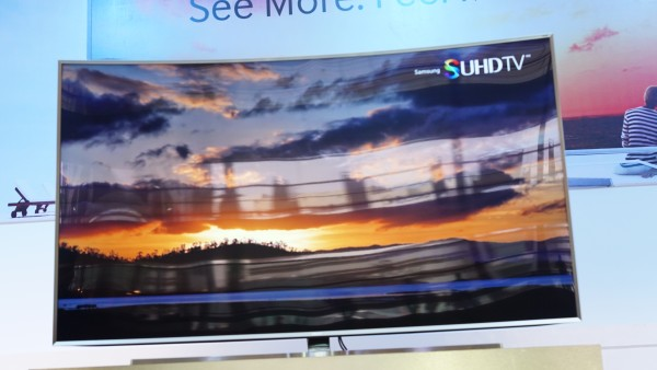 samsung 78 curved tv. the new samsung suhd tv. seen here is 78js9500, 78-inch 78 curved tv 0