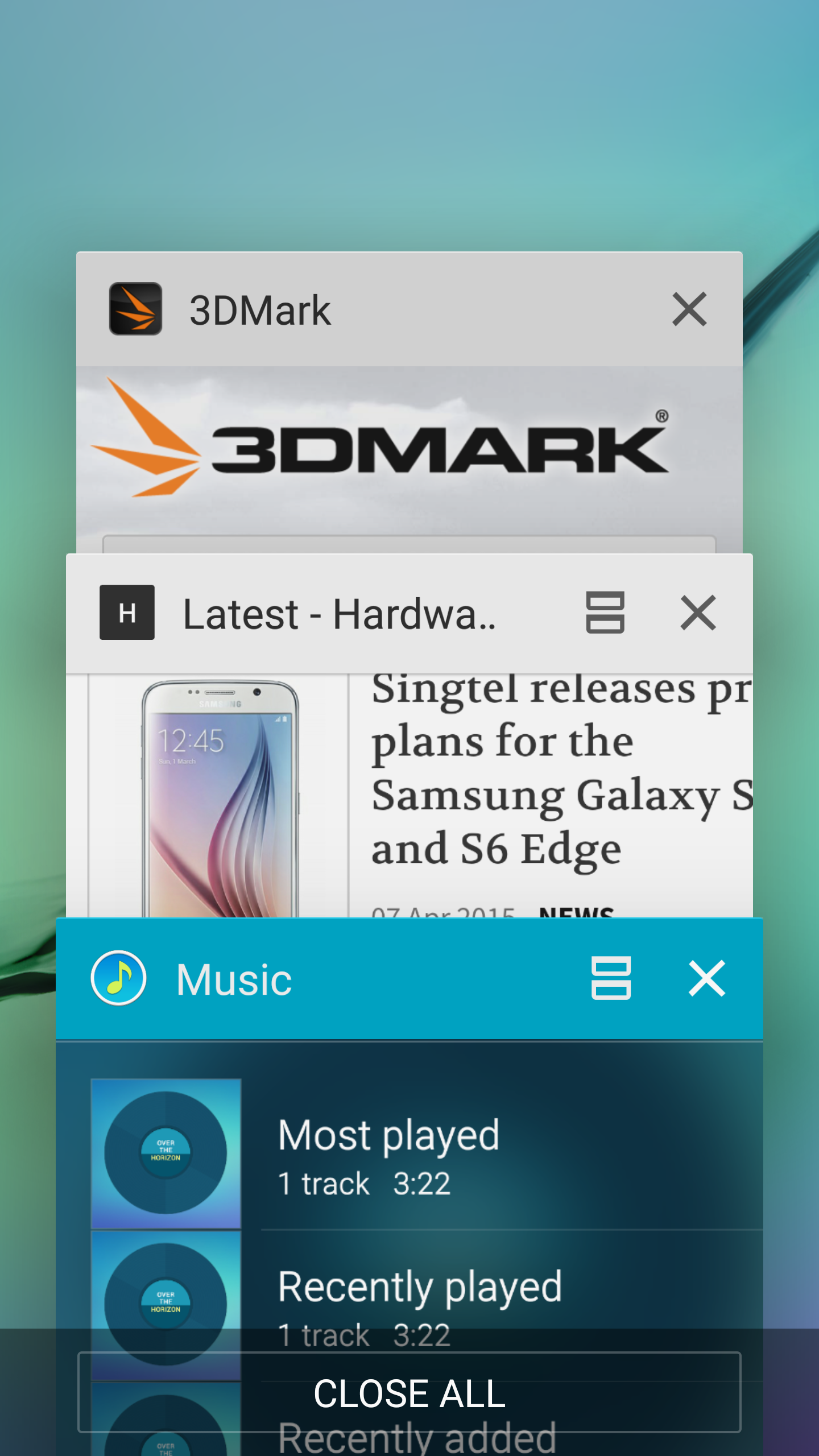 Multi-tasking is easier than ever. Just tap the split-screen icon on any supported app in the recent apps menu.