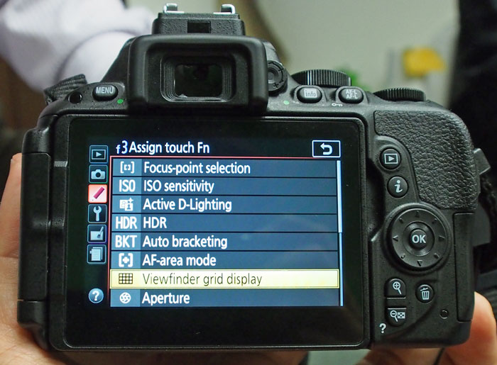 A whole slew of settings can be assigned to Touch Fn.