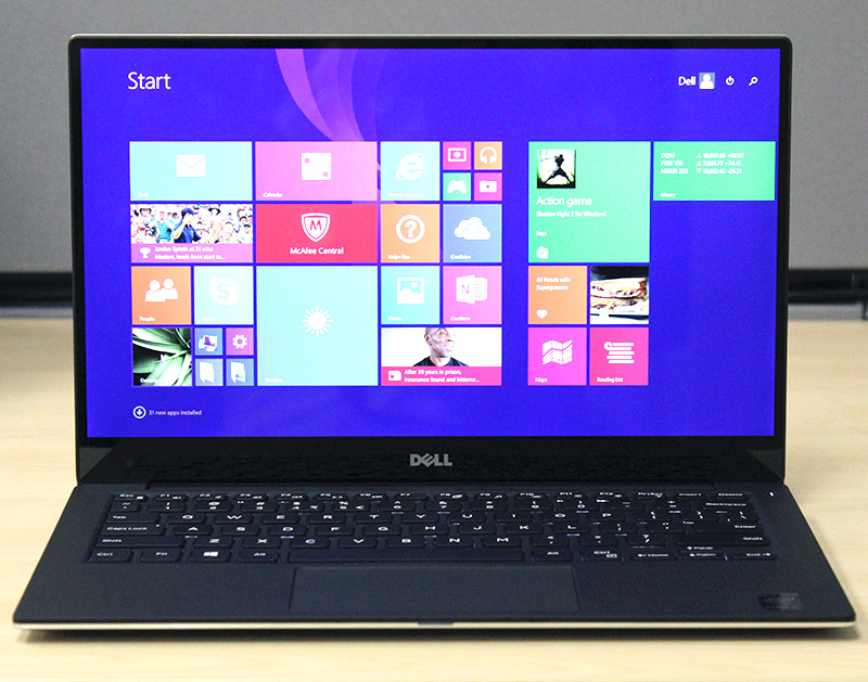 The Dell XPS 13 is easily one of the best looking notebooks in the market right now.