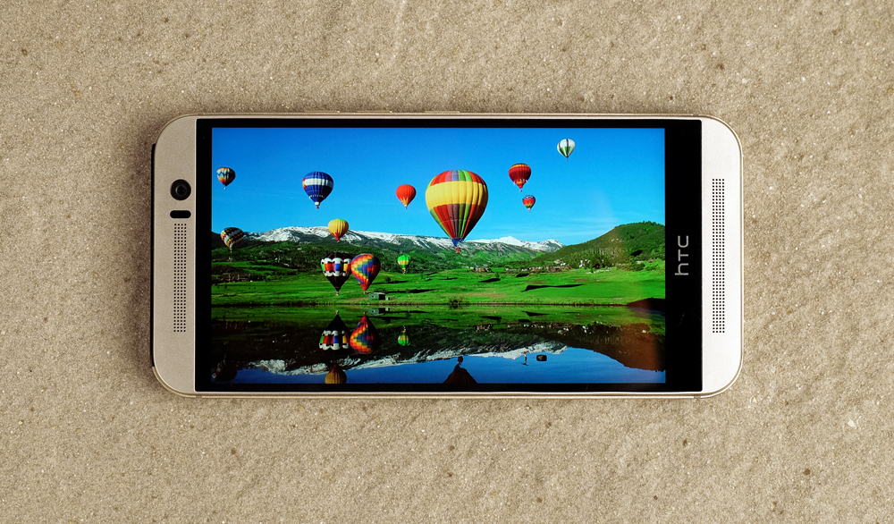 The One M9 generally displayed good color reproduction and great clarity.