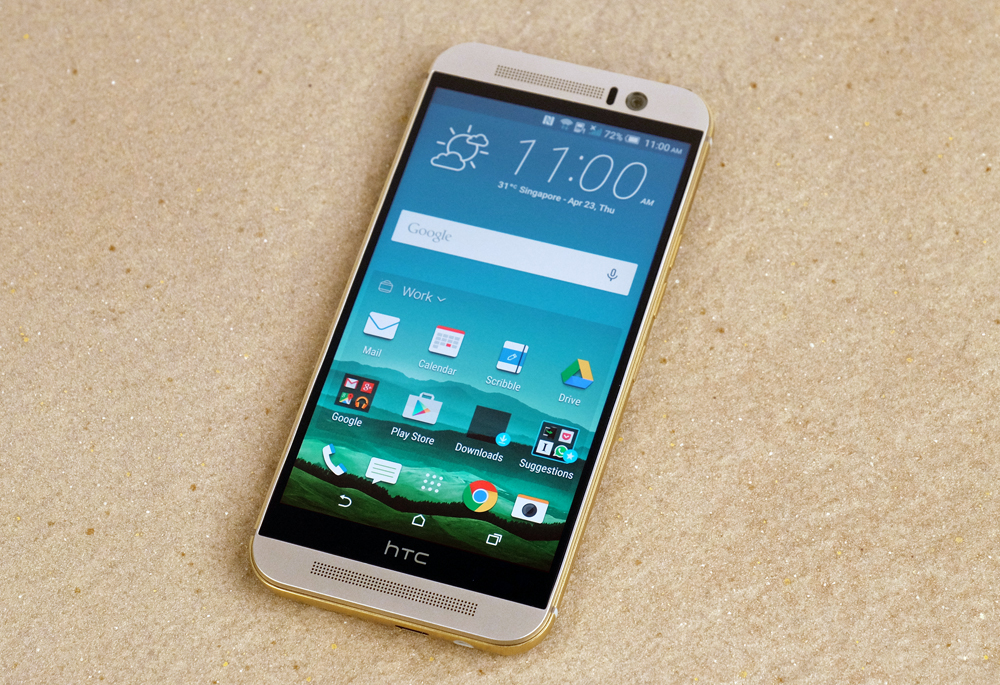 The HTC One M9 looks very similar to last year's M8.