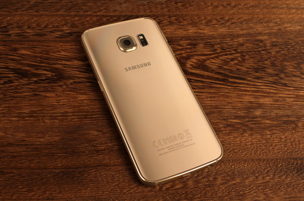 Samsung has really nailed the gold color.