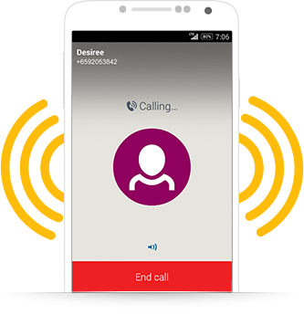how to end calls on monkey app