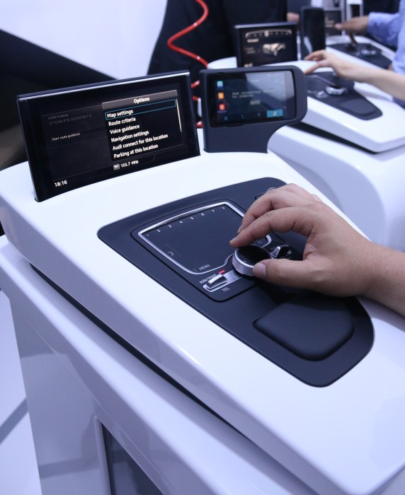 With Audi Connect and the Audi Tablet (below), users will be able to do more with the car.