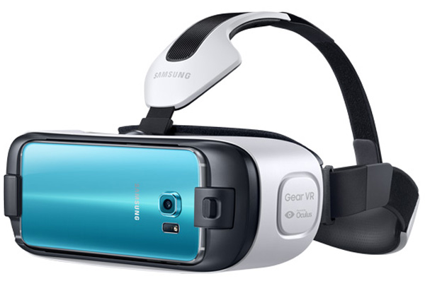 There's also a new Gear VR made especially for the S6 called the Gear VR Innovator Edition for S6.