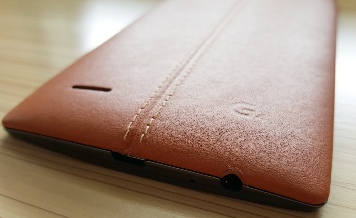 Time will tell how well the leather back of the LG G4 will age.