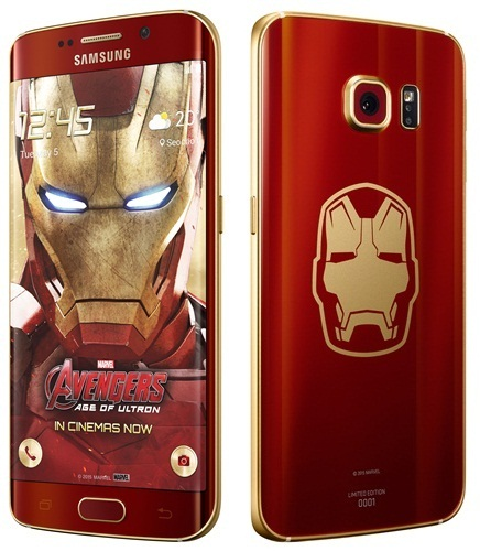 Samsung officially announces galaxy s6 edge iron man limited.