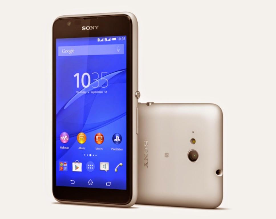Sony Xperia E4g. <br>Image source: Sony.