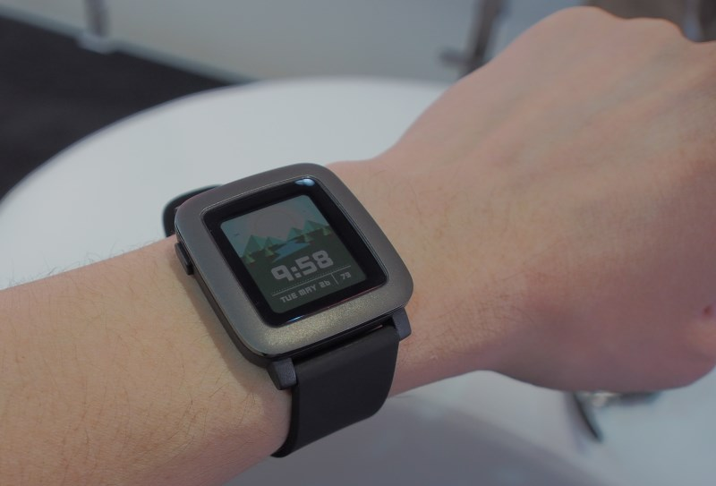 The Pebble Time.