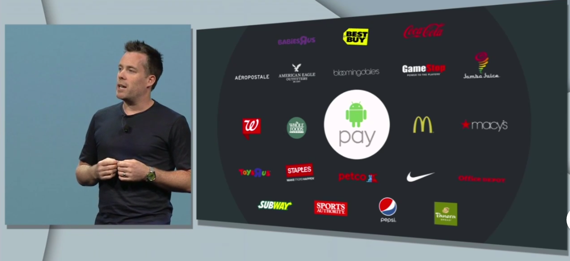 Android Pay will be accepted in 700,000 stores in the U.S.