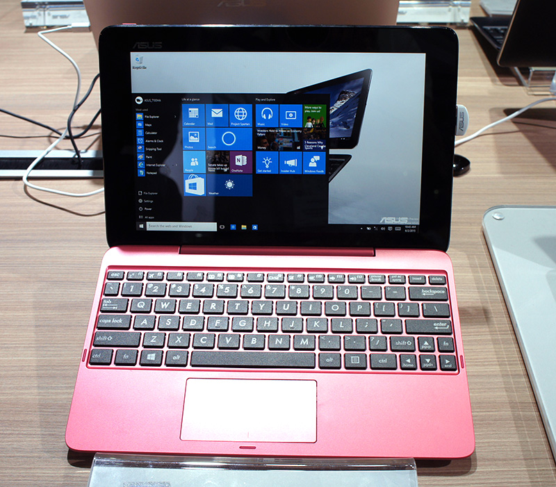 Hands on with two new asus 2 in 1 hybrid notebooks with usb type c ports - Asus transformer t100 ports ...