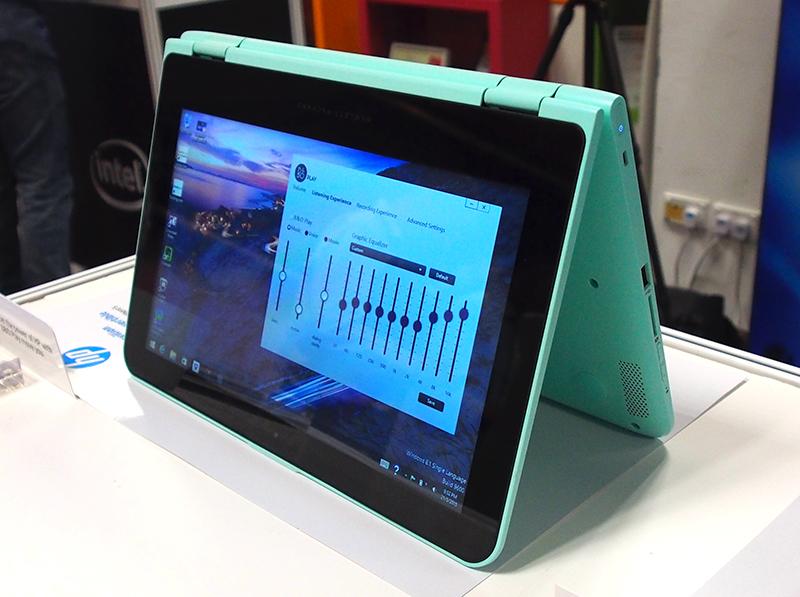HP Pavilion x360 11 laptop xoay gập đa năng - 120037
