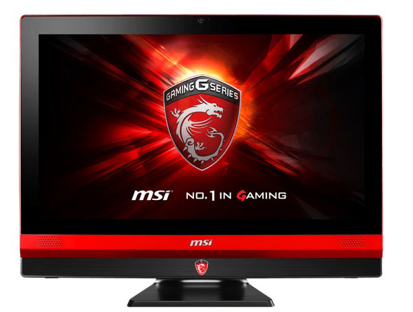 The MSI Gaming 24GE 2QE 4K is available in both touch and non-touch versions. Shown here is the touch-capable version. (Image Source: MSI)