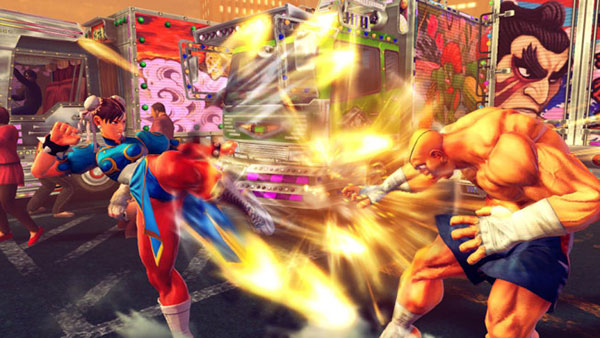 Ultra Street Fighter 4 is one of the games that will offer 1080p60 streaming on NVIDIA GRID. (Image Source: NVIDIA)