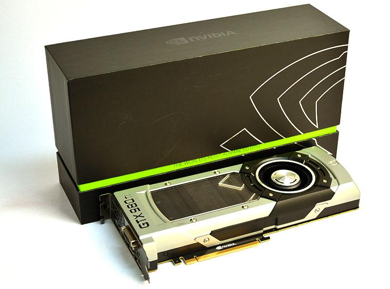 Meet the NVIDIA GeForce GTX 980 Ti, a monster card that sits just below the GeForce GTX Titan X.