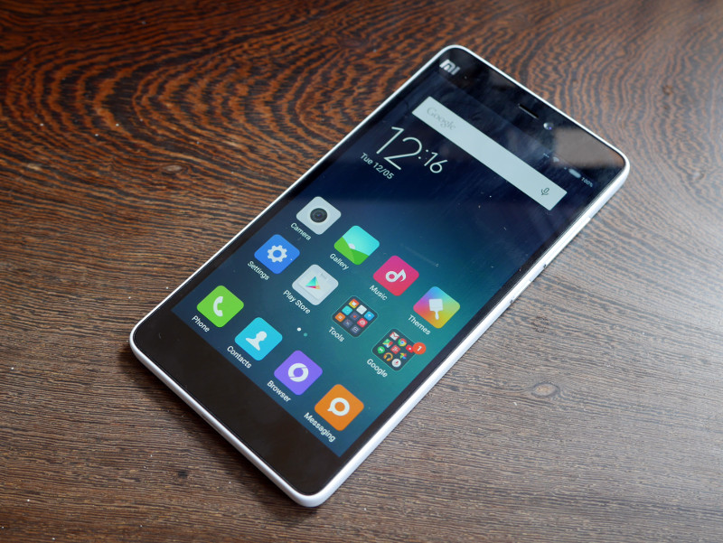 The Mi 4i has a simple but elegant design.