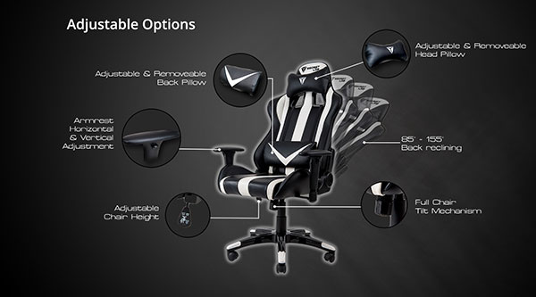 The Secretlab Throne features a full range of adjustability options. (Image Source: Secretlab)