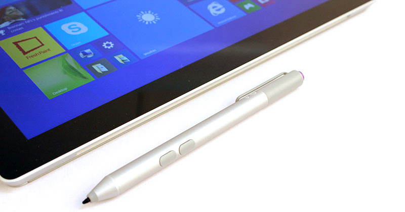 The Surface Pen will also work with the Surface 3 although it must be purchased separately.