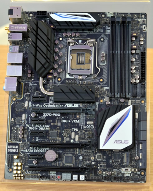 Any news for Blue/Black Z170 Motherboards? - CPUs ...