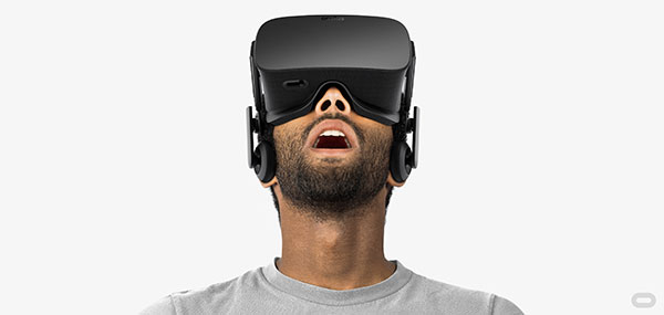 The headset features built-in headphones that can be removed if you wish to use a better set of headphones. (Image Source: Oculus)