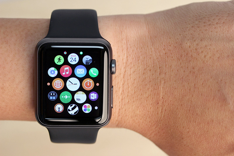 You can arrange app home screen layout, configure notifications, and more using the Apple Watch app on the iPhone.