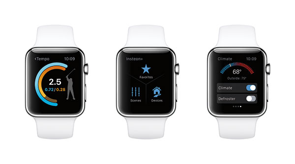 The Apple watchOS 2 includes several updates that should have been in the original watchOS. <br>Image source: Apple.