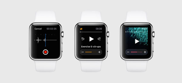 WatchKit gives developers greater access to the hardware features on the watch. <br>Image source: Apple.