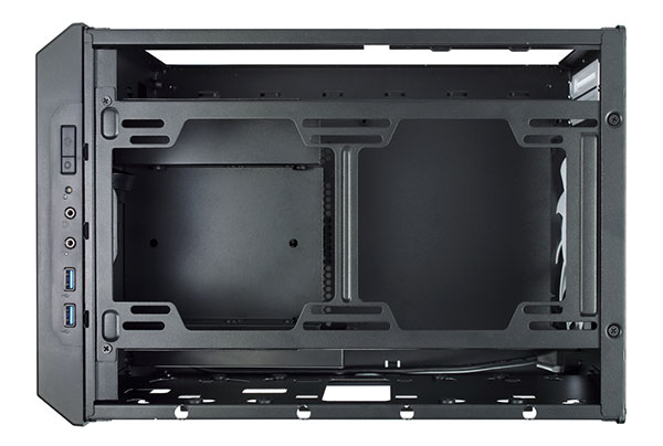 The top of the case can take two more 140mm fans or a 240mm radiator. (Image Source: Fractal Design)