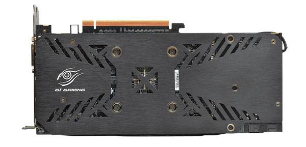 Both cards feature a similar brushed metal backplate for added support. (Image Source: Gigabyte)